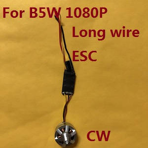 MJX Bugs 5W B5W RC Quadcopter spare parts main brushless motors with ESC board (Long wire CW)