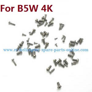 MJX Bugs 5W B5W RC Quadcopter spare parts screws (For B5W 4K version)