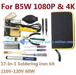 MJX Bugs 5W B5W RC Quadcopter spare parts 17-In-1 Voltage 110-120V 60W soldering iron set