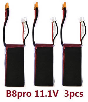 MJX Bugs 8 Pro, B8 Pro RC Quadcopter spare parts battery 3pcs