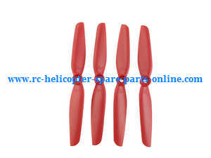 MJX Bugs 6, Bugs 8, B6 B8 RC Quadcopter spare parts main blades (Red)