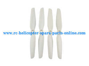 MJX Bugs 6, Bugs 8, B6 B8 RC Quadcopter spare parts main blades (White)