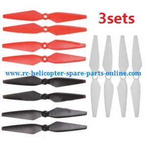 MJX Bugs 6, Bugs 8, B6 B8 RC Quadcopter spare parts main blades set (3sets)