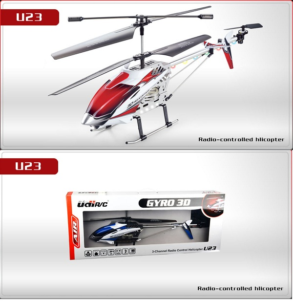 UDI RC U23 Helicopter Parts