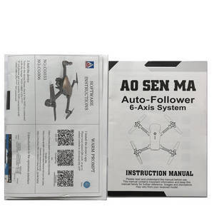 Aosenma CG033 CG033-S RC quadcopter spare parts English manual instruction book