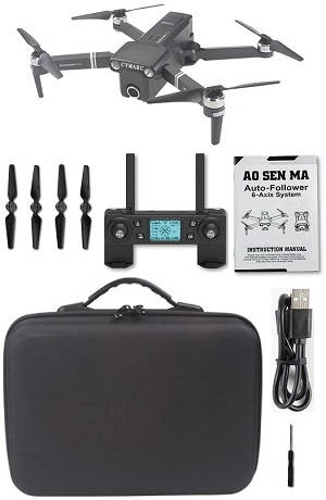 Aosenma CG036 RC Drone with portable bag and 1 battery RTF