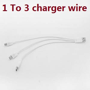 Aosenma CG036 RC Drone spare parts 1 to 3 charger wire