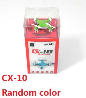 cheerson cx-10 RC mini quadcopter (Random color)