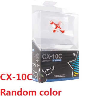cheerson cx-10c RC mini quadcopter with camera (Random color) RTF