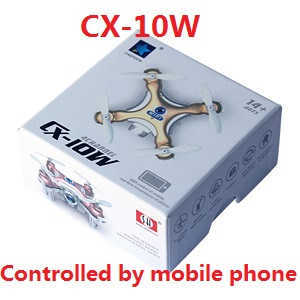 Cheerson CX-10W RC quadcopter with camera,controlled by mobile phone (Random color)