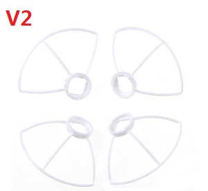 Cheerson CX-10W CX-10W-TX quadcopter spare parts outer protection frame (V2 White)
