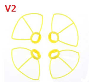 Cheerson CX-10W CX-10W-TX quadcopter spare parts outer protection frame (V2 Yellow)