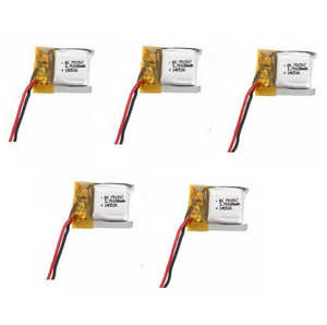 Cheerson CX-10W CX-10W-TX quadcopter spare parts battery 3.7V 150mAh 5pcs