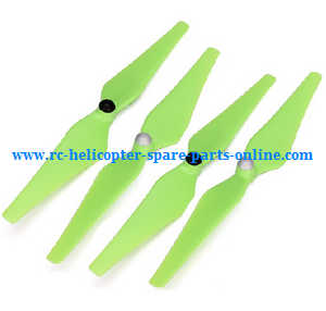 cheerson cx-20 cx20 cx-20c quadcopter spare parts main blades propellers (Green)