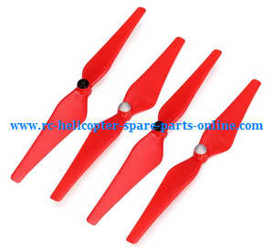 cheerson cx-20 cx20 cx-20c quadcopter spare parts main blades propellers (red)