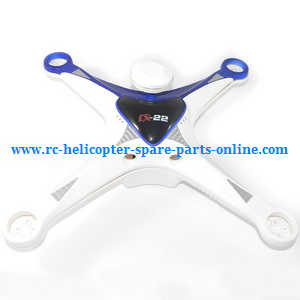 cheerson cx-22 cx22 quadcopter spare parts upper and lower cover (Blue-White)