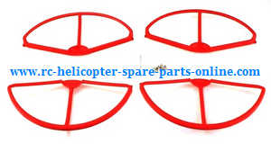 cheerson cx-22 cx22 quadcopter spare parts outer protection frame set (Red)