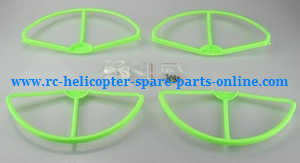 cheerson cx-22 cx22 quadcopter spare parts outer protection frame set (Green)