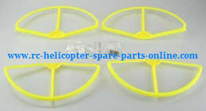 cheerson cx-22 cx22 quadcopter spare parts outer protection frame set (Yellow)