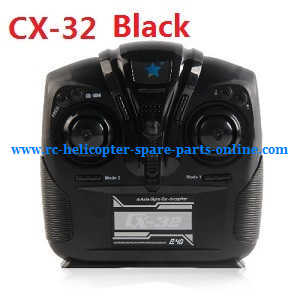 Cheerson cx-32 cx-32c cx-32s cx-32w cx32 quadcopter spare parts transmitter (CX-32 Black)