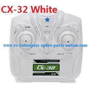 Cheerson cx-32 cx-32c cx-32s cx-32w cx32 quadcopter spare parts transmitter (CX-32 White)