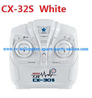 Cheerson cx-32 cx-32c cx-32s cx-32w cx32 quadcopter spare parts transmitter (CX-32S White)
