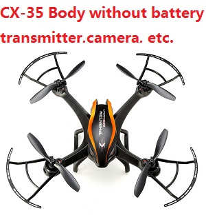 Cheerson CX-35 Body without transmitter,battery,charger,camera,etc. (Random color)