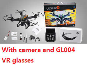 Cheerson CX-35 RC quadcopter with 5.8G FPV camera and GL004 VR glasses (Random color)