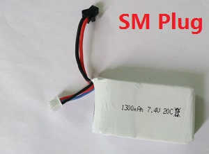 Cheerson CX-35 CX35 quadcopter spare parts battery 7.4V 1300mAh SM plug