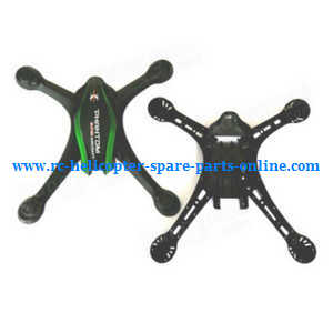 Cheerson CX-35 CX35 quadcopter spare parts upper and lower cover (Green-Black)