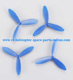 Cheerson CX-60 RC quadcopter spare parts main blades (Blue)