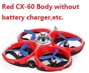 Cheerson CX-60 Body without battery, charger, etc. (Red)