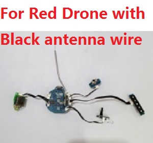 Cheerson CX-60 RC quadcopter spare parts WIFI module and PCB board with black antenna wire for Red drone