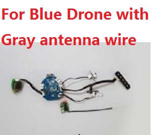 Cheerson CX-60 RC quadcopter spare parts WIFI module and PCB board with gray antenna wire for Blue drone