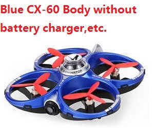 Cheerson CX-60 Body without battery, charger, etc. (Blue)