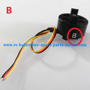 Cheerson CX-91 CX91 quadcopter spare parts brushless motor B