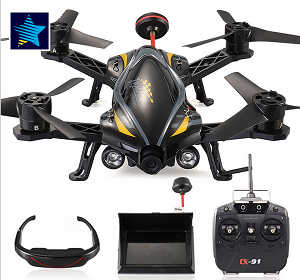 Cheerson CX-91 RC quadcopter with 2MP camera,5.8G FPV set,2D VR video glasess.