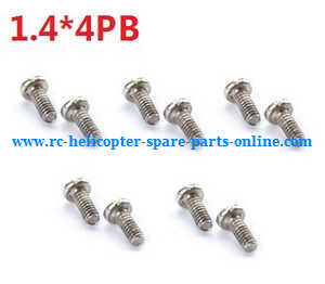 Cheerson CX-91 CX91 quadcopter spare parts screws (1.4*4PB 10pcs)