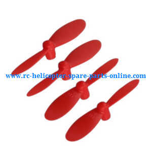 Cheerson CX-OF RC quadcopter spare parts main blades (Red)