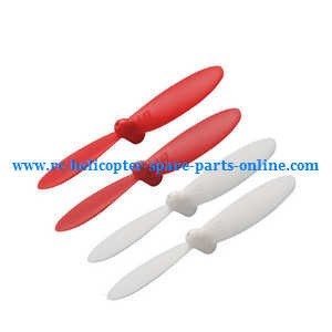Cheerson CX-OF RC quadcopter spare parts main blades (Red-White)