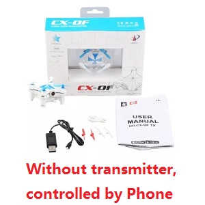 Cheerson CX-OF RC quadcopter without transmitter (Controlled by Phone)[Random color]