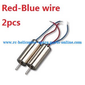 Cheerson CX-OF RC quadcopter spare parts main motors (Red-Blue wire, 2pcs)
