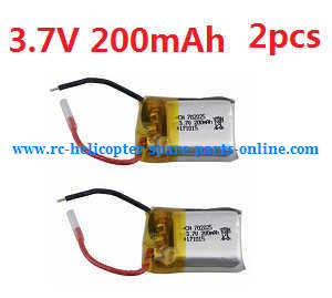 Cheerson CX-OF RC quadcopter spare parts 3.7V 200mAh battery 2pcs