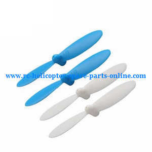 Cheerson CX-OF RC quadcopter spare parts main blades (Blue-White)