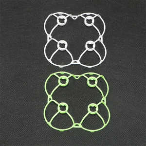 JJRC DHD D2 RC quadcopter spare parts protection frame set (White + Green)