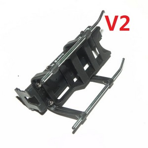 DFD F103 F103B RC helicopter spare parts undercarriage + bottom board + battery case (F103B V2)
