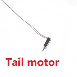 DFD F103 F103B RC helicopter spare parts tail motor