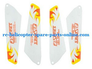 DFD F106 RC helicopter spare parts main blades (Yellow)