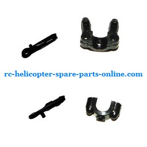DFD F106 RC helicopter spare parts fixed set of the tail support bar and decorative set