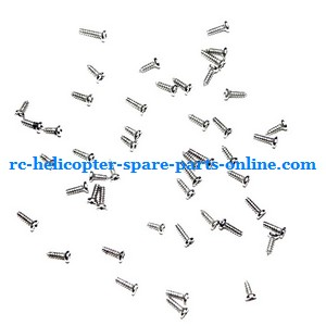 DFD F106 RC helicopter spare parts screws set